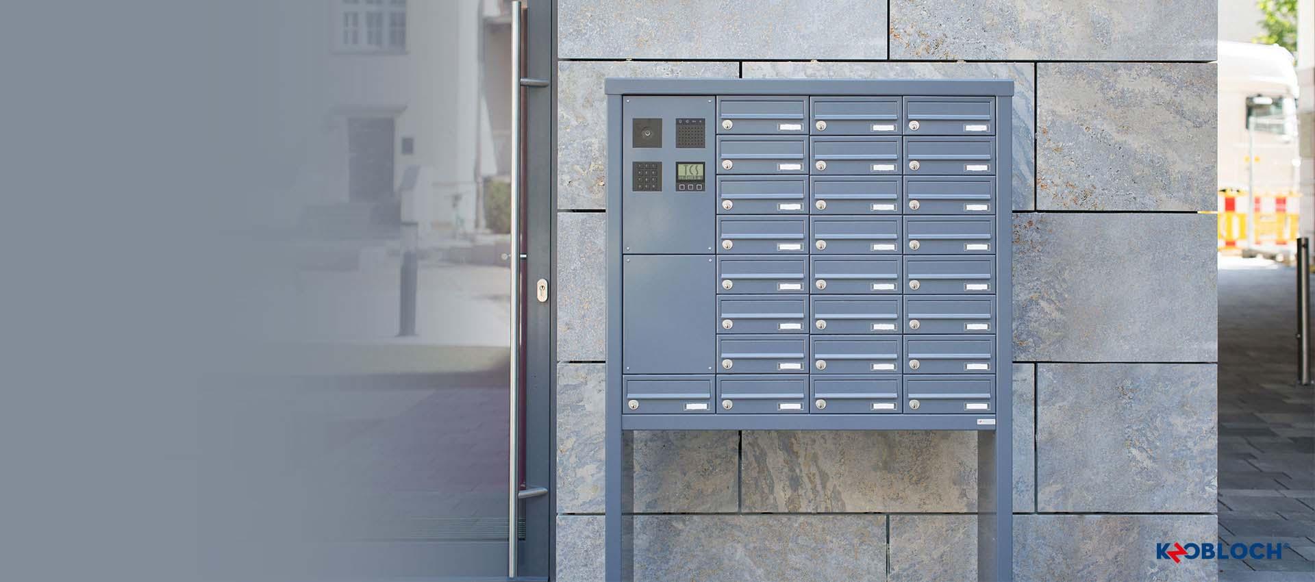 Briefkastenanlagenkonfigurator Von KNOBLOCH
